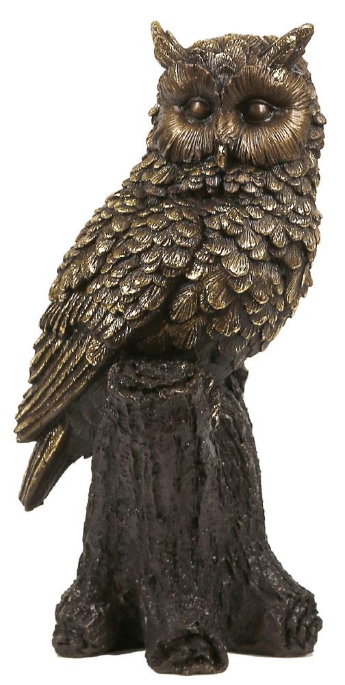 Филин скульптура своими руками
